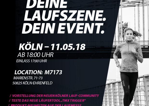 TMX Running Event in Köln