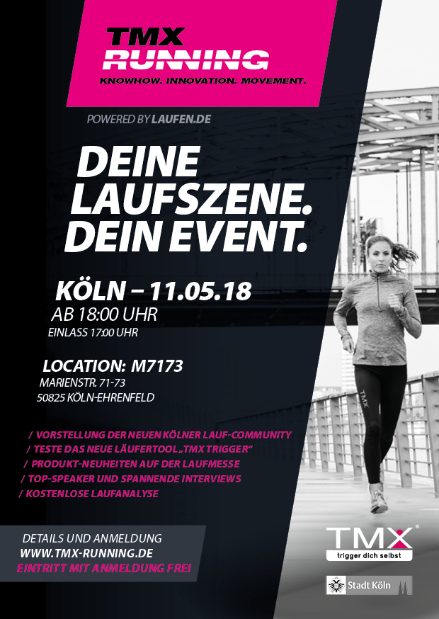 TMX Running Event in Köln