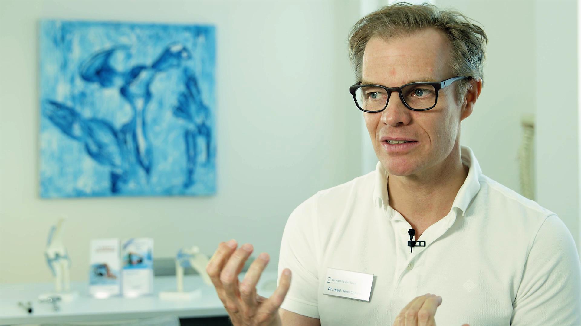 Dr. Jens Enneper im Intervwie zur ACP-Therapie