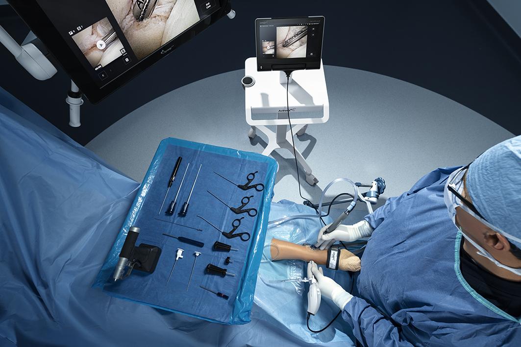 Nano-Arthroskopie an der Ferse