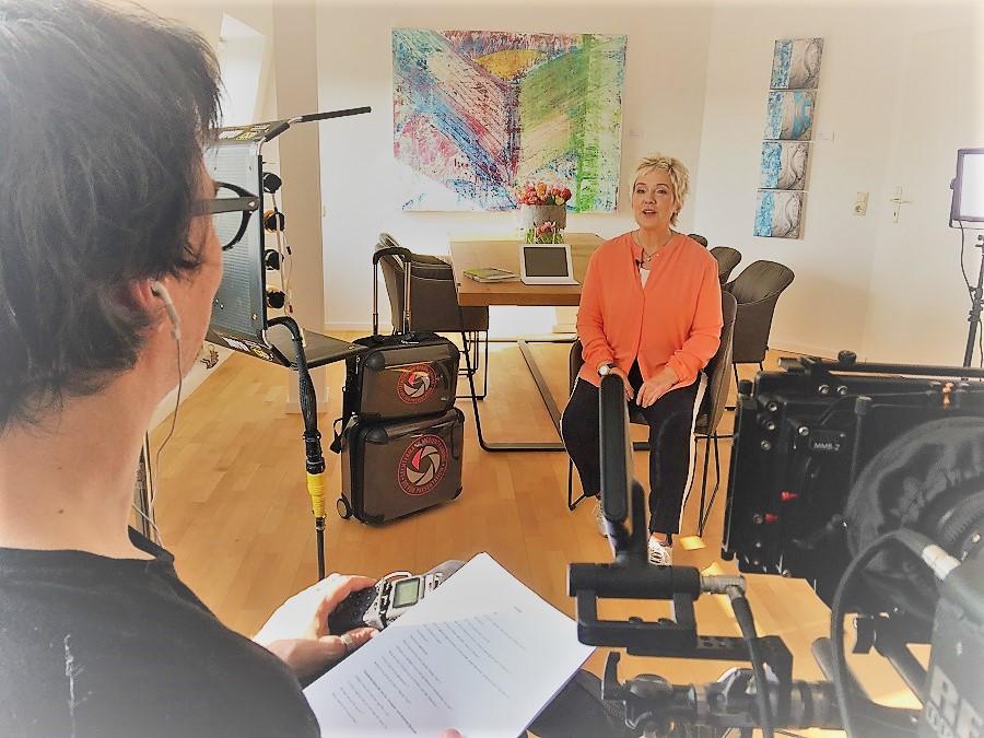 Birgit Lechtermann zur VIP Visite - Health TV