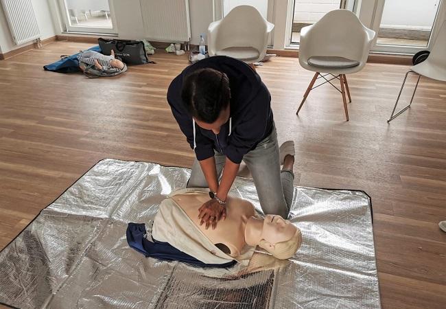 Brandschutz- und Notfall-Training in der Praxis