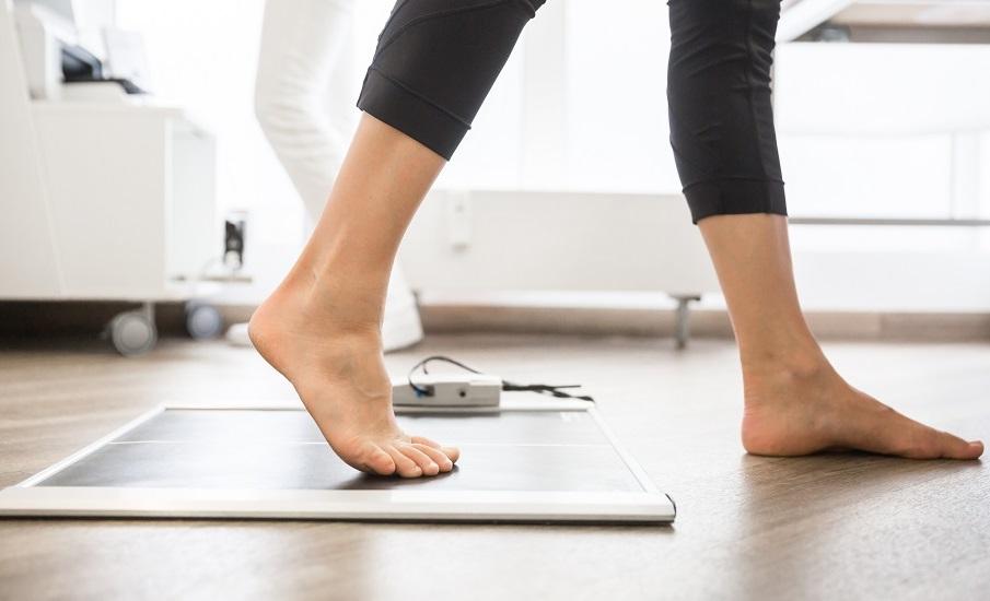 Orthopädische Diagnostik - Digitale Gang- und Fußanalyse