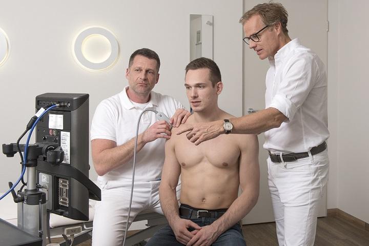 Hochauflösendes Ultraschall Sonographie