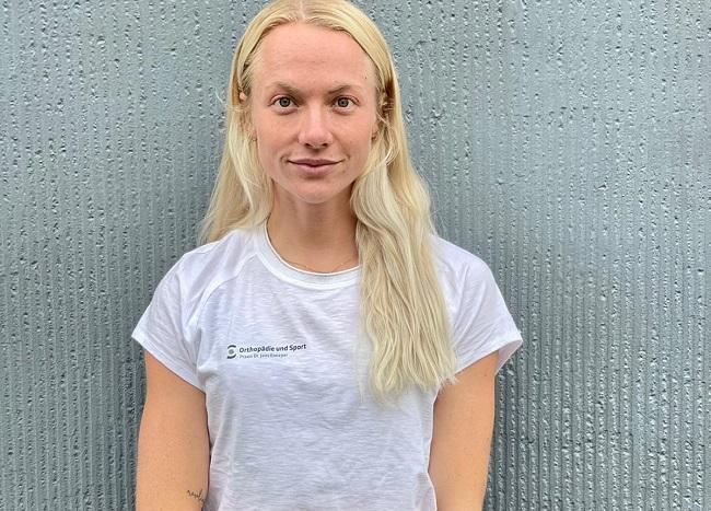 Laura Marx des Leichtathletik-Team Deutsche Sporthochschule Köln e.V.