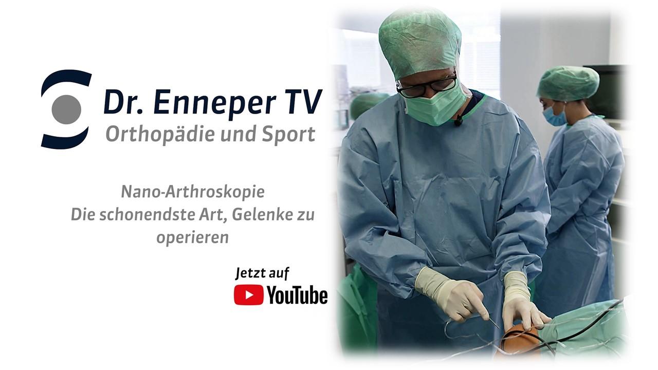 Folge 3 von Dr. Enneper TV - Nanoarthroskopie am Knie