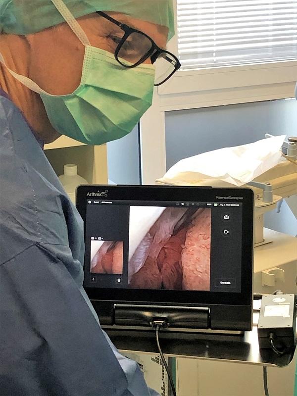 Nanoskopie durchgeführt von Dr. Jens Enneper Orthopädie und Sport