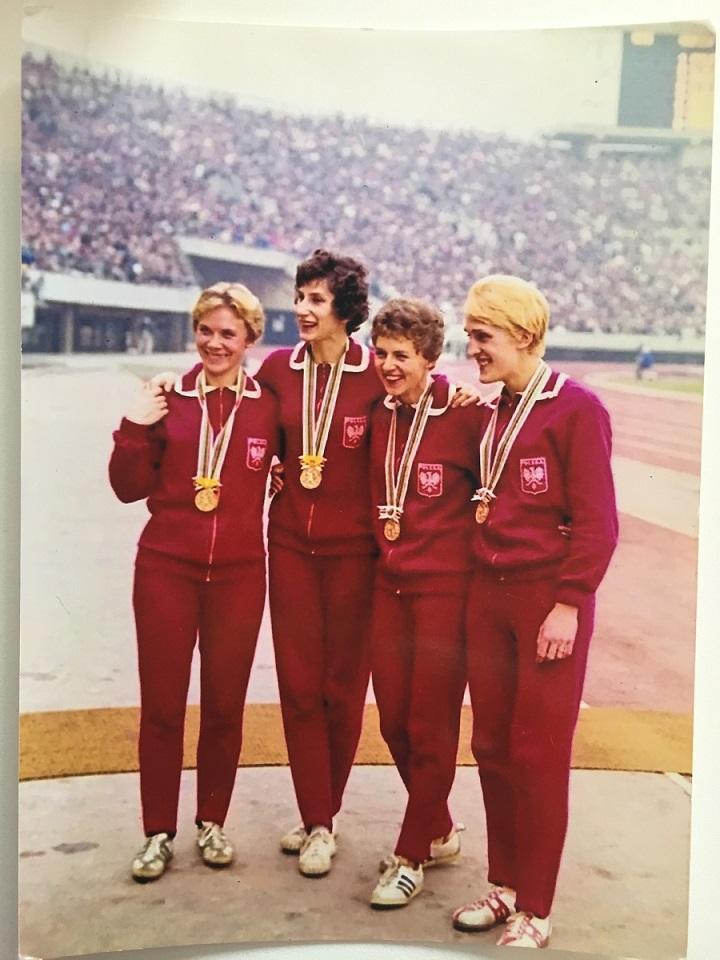 ehemalige Profi-Athletin der Sprintdisziplin Halina Gorecka-Herrmann